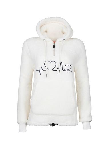 Bad Bear Sweatshirt Beyaz